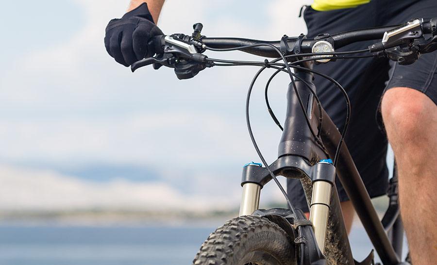 Tänk på säkerheten när du ska cykla mountainbike